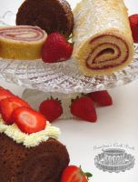 Swiss rolls by Mrs-Yum-Yums