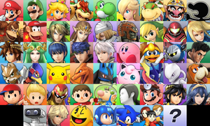 Super Smash Bros 3DS DLC Roster by Snivy101