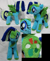 Seafoam Breeze OC plush by Cryptic-Enigma