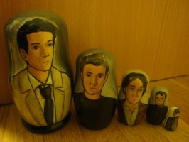 Supernatural Nesting Dolls by bachel60