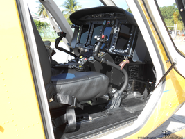 Bell 429 helicopter _ cockpit interior by K4nK4n