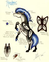 Harlow redesign ref. by Spiderwick19