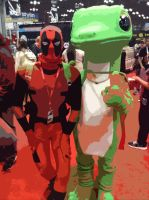 Comic Con 2014-Saving money on Insurance by badger4r