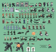 Pixelstained MGS Technopeasant by zarla