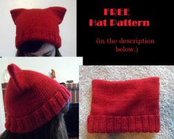 Free Hat Pattern by YarnHoardingDragon