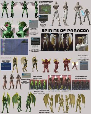 Spirits of Paragon group
