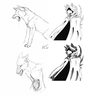 Sketches by GreyeWolf