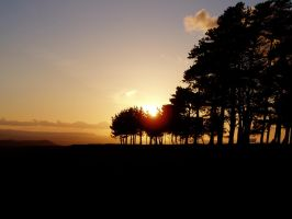 Sunset on Mayhill by whim