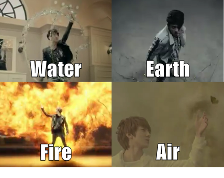 The Elements of EXO by DreamAmongStars