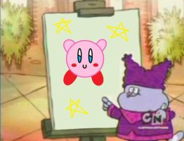 Chowder drew kirby by IceKirby64