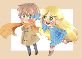 Chibies o5 by Lady-Ignea