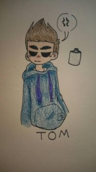 Tom - Eddsworld (Colored  finished) by ElArtistaMexicano