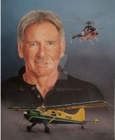 Harrison Ford by Paluso4art