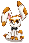 The Pensive Bunny by Lohlite
