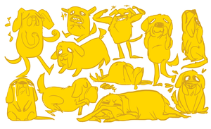 what time is it?? (jake the dog time) by Amandazon