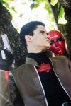 Jason Todd, The Red Hood - Tiger Punch by DashingTonyLima