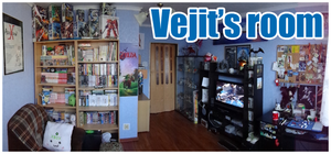 Vejit's room by Vejit