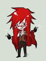 Grell by Pikkochan