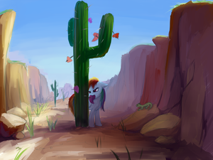 Magic Valentine Cactus by Sokolas