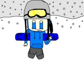 Crystal Manning - SSX Boarder by Dark-Tundra-Chaos