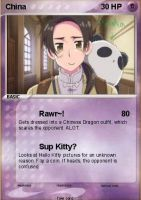 China Pokemon Card~ by jordanlynch