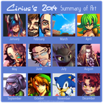 2014 Summary of Art by leocirius