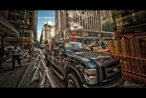 Super Duty - 58th and Madison by Tomoji-ized