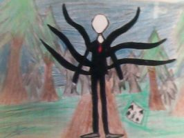 Slenderman by MarcelineandBonnibel