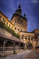 Sighisoara by Wintertale-eu