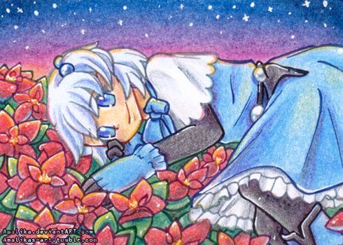 ACEO #47 - Sternenmeer by Amalika