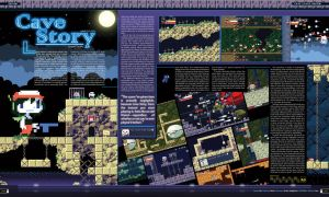 Gamefan Issue Two Cave Story by RobDuenas