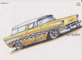 Taxi Nomad 57 by HorcikDesigns