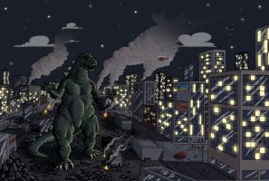 Godzilla Colours by RobWSales