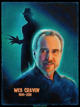 Wes Craven by Elswyse