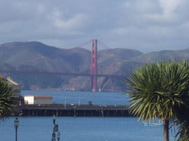 golden gate san fransisco by Angels-Pixie-D