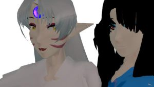 [MMD] Fnaf Inuyasha Version Random X3 by SesshoumaruUke122