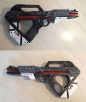 Mass Effect blaster pistol gun mod by GirlyGamerAU