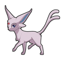 Espeon by Sugarcup91