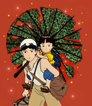 Grave Of The Fireflies - Colored version by AnanyaArts