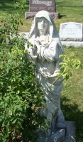 Mount Olivet Cemetery Mary 191 by Falln-Stock