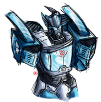 IDW Blurr by Xainra