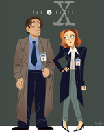 THE X-FILES by hotcake