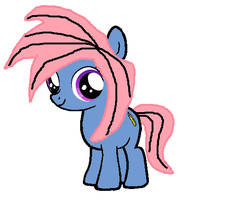 Doodle Bug as a filly by FDairyAnime