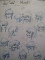 Noodle Model Sheet_Expressions by pistol-paintbrush493