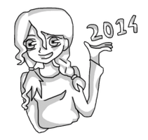 2014 has arrived~! by janzram