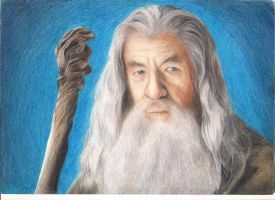 Gandalf by annasiget