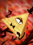 Bill Cipher by hollowzero