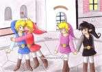 tLoZ - FS: Twin Couples by EikoThePsycho
