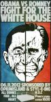 Obama vs Romney by OpiumIsland