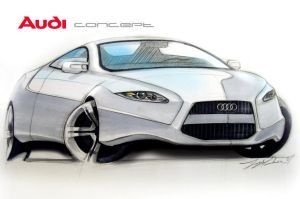 Audi Concept By Tony Chen by TonyWcK